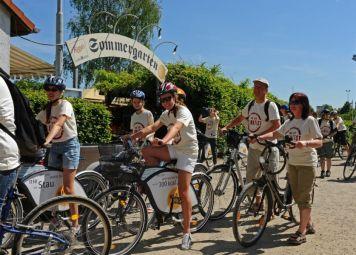 Frankfurt Bike Tour + Bike Rental