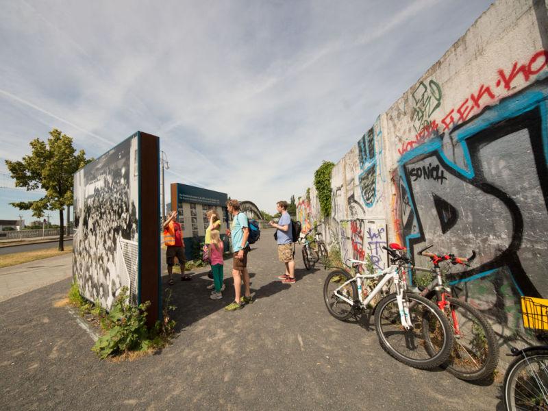 Berlin Ost-West Mauer Radtour