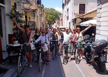 Geheimen van Athene Fietsroute