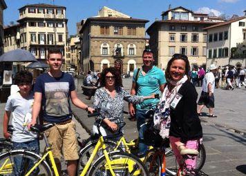 Fietsen huren in Florence