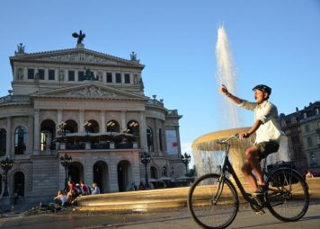 Frankfurt Fietstour: de highlights