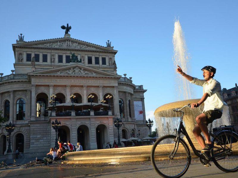 Fahrradtour Frankfurt Highlights