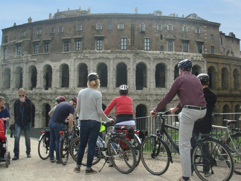 Rom Panorama Fahrradtour