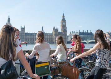 student travel london underground: boat