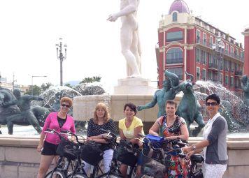 Nizza Highlights Fahrradtour