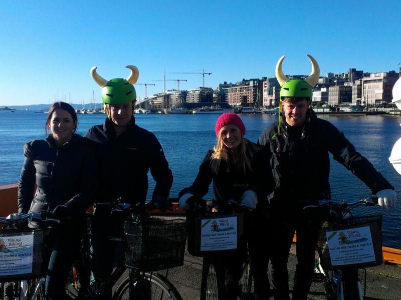 Fahrradtour Oslo Highlights