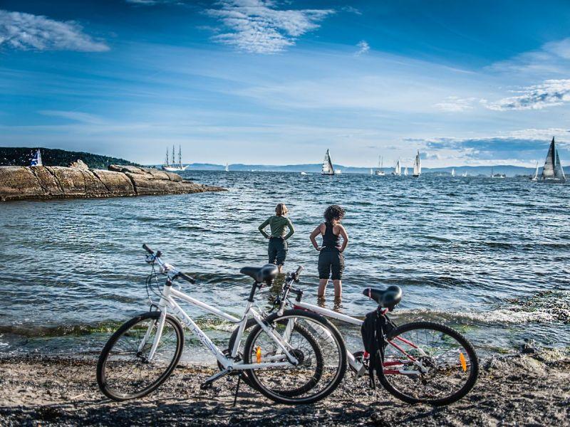 Fietsen huren in Oslo