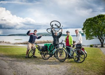 Viking en Beaches fietstocht