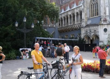 Budapest Bike Tour + Bike Rental