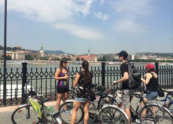 Budapest Donau Cykeltur
