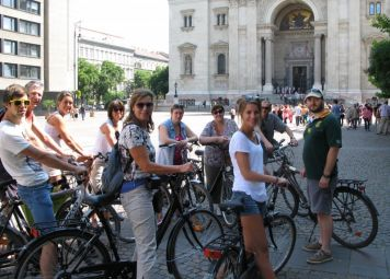 Budapest Guidet tur + Cykelleje