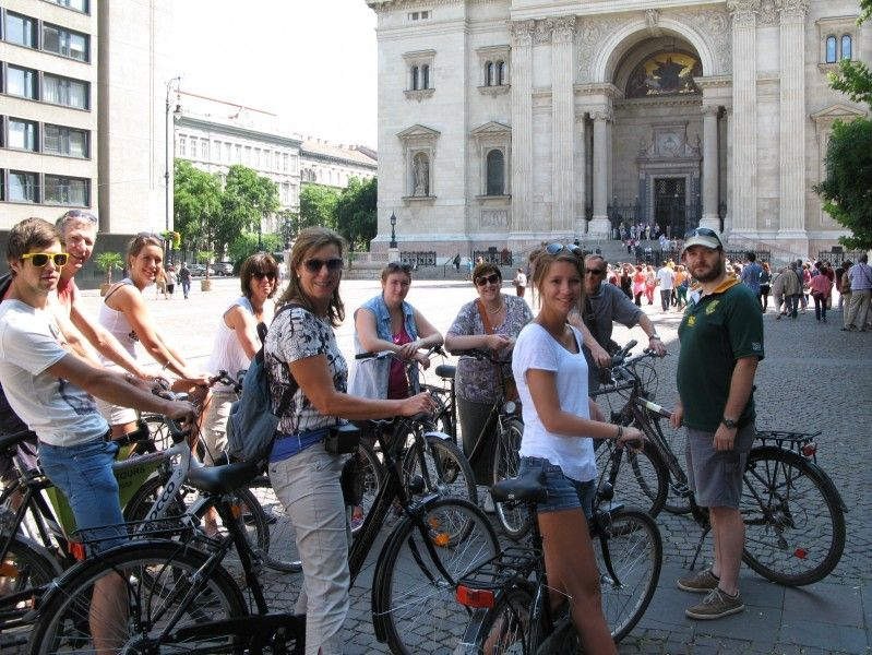 Highlights of Budapest bike tour