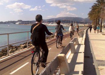 Fietsen huren in Palma de Mallorca