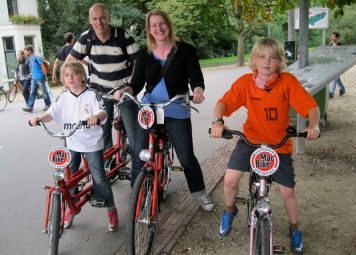 Amsterdam by bike with kids