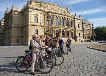 Fietsen huren in Praag