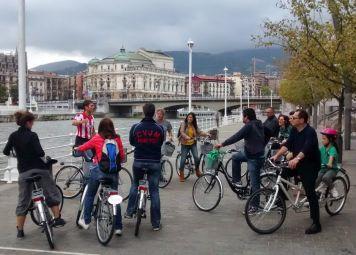 Fietsen huren in Bilbao