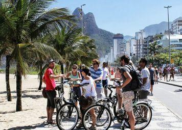 Fietsverhuur in Rio de Janeiro