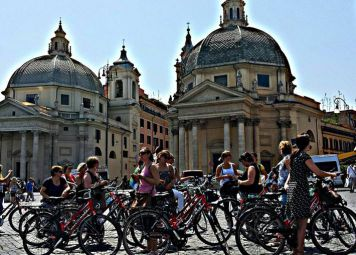 Studenten Fietstour Rome