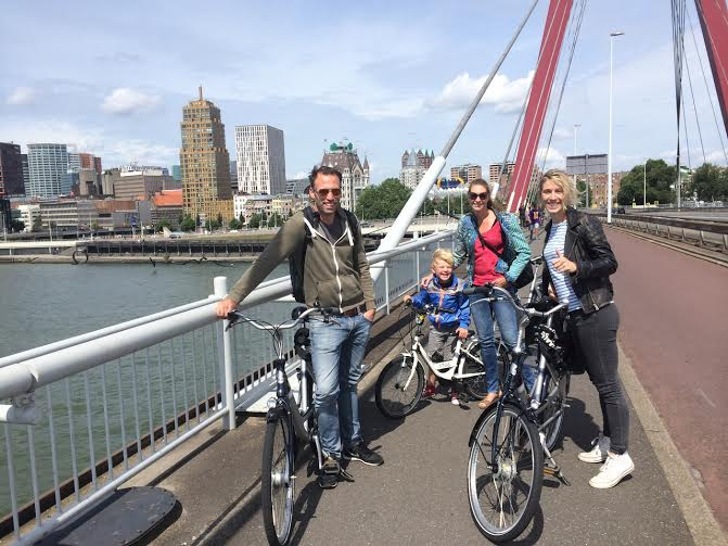 Rotterdam mit Kindern