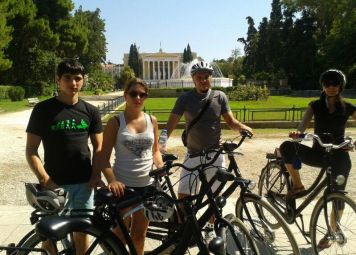 Athens Highlights Bike Tour