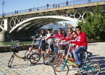 Sevilla Highlights Fahrradtour