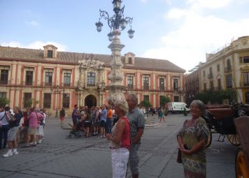 Sevilla byvandring