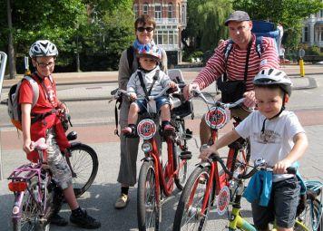 Fahrradtour Amsterdam mit Kindern