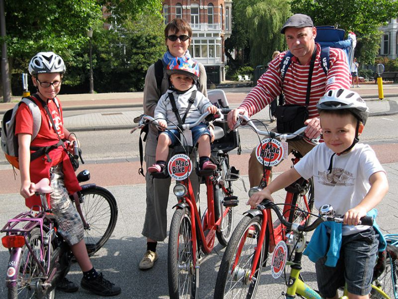 Bike Tour Amsterdam with Children