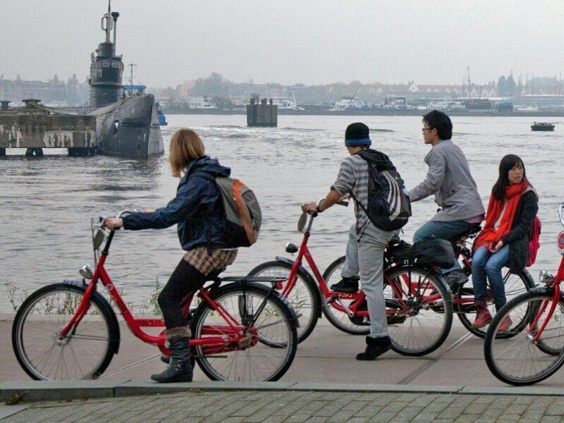 Fietsen huren in Amsterdam