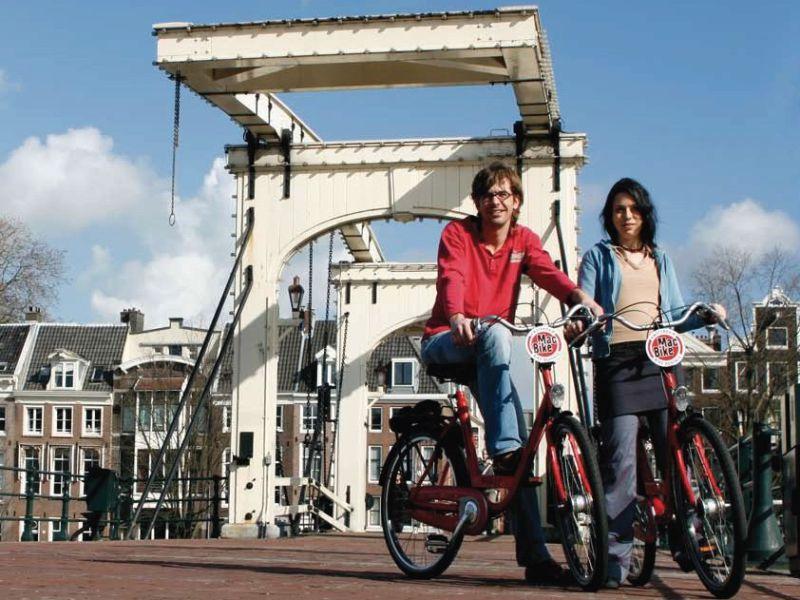 Amsterdam Fietstour: de highlights