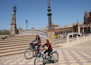 Fietsen huren in Sevilla
