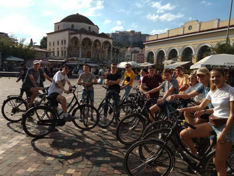 Culinary bike tour Athens