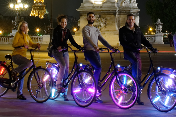 Paris by Night Bike Tour