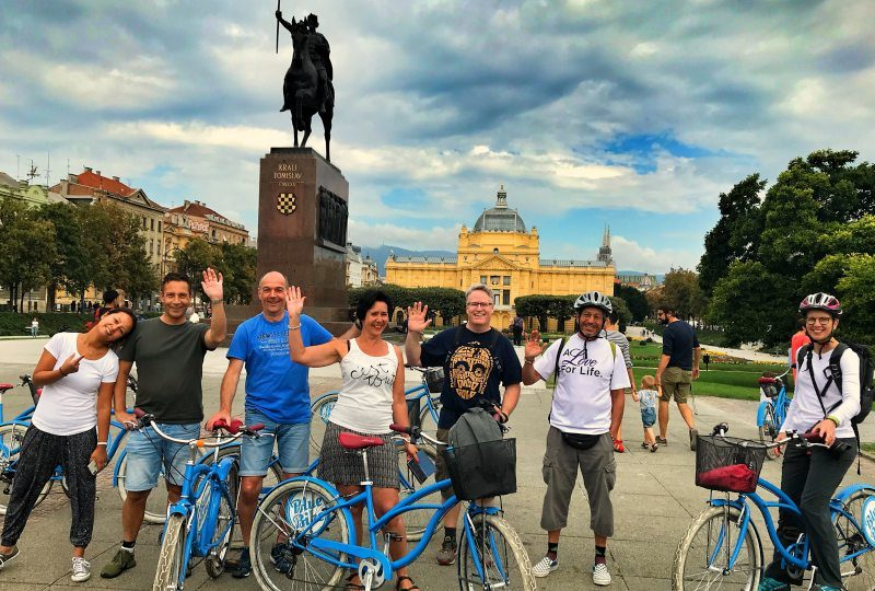 Zagreb Fietstour: de highlights