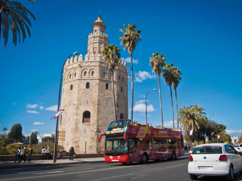 Sevilla Hop On Hop Off Tickets