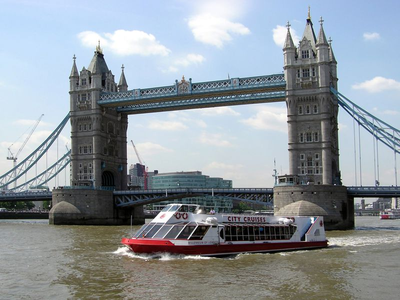 Tickets Hop on Hop off cruise Londen