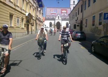 Fietsverhuur in Zagreb