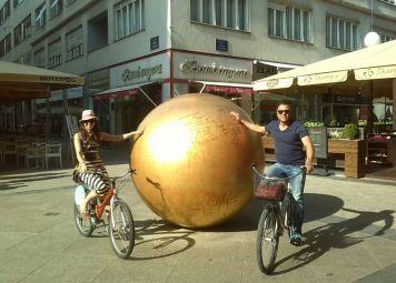 Fietsen huren in Zagreb