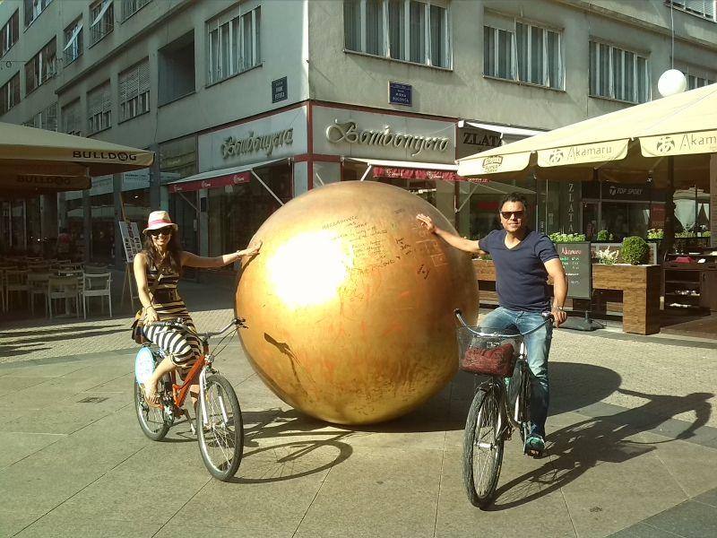 Zagreb Fietstocht: Alternatief