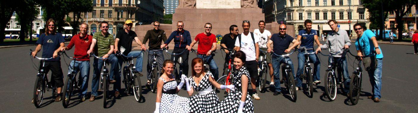Fahrradtour Riga Highlights