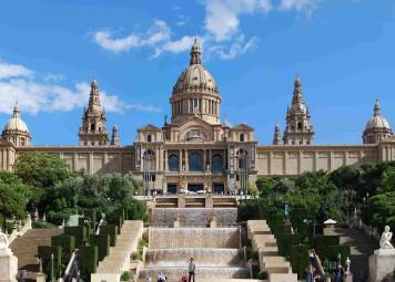 Barcelona Fietstocht op Montjuic