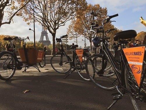 Cykelleje i Paris