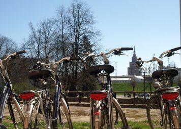 Fietsen huren in Riga