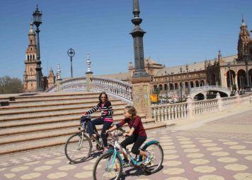 Fietsverhuur in Sevilla