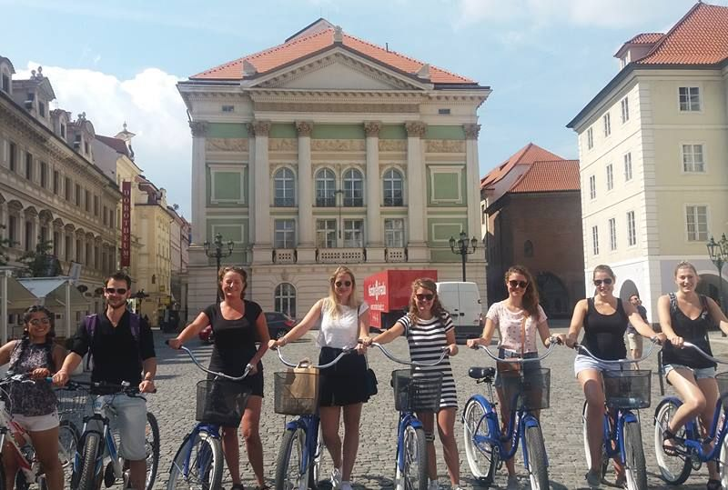 Prague Highlights bike tour