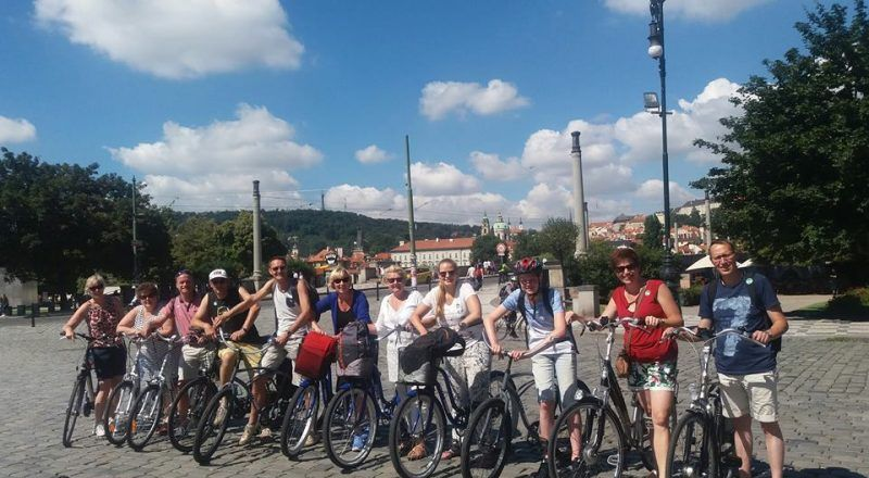 Prague Student Bike Tour