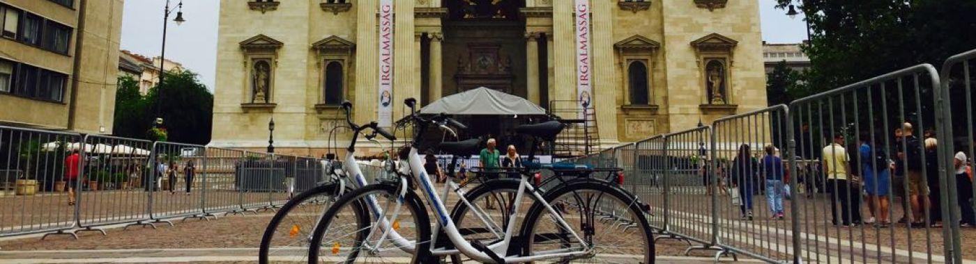 Fietsen huren in Boedapest