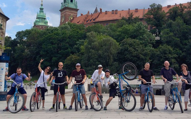 Krakau Fietstour: de highlights
