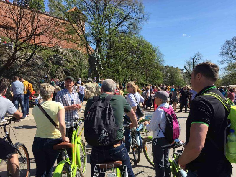 Krakau Fietstour: de highlights