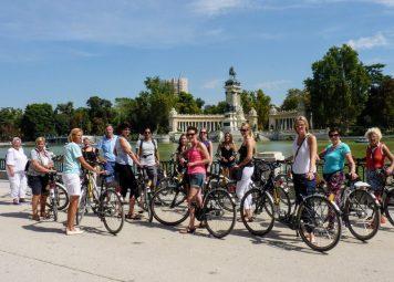 Madrid Fietstour + Fietshuur